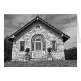 Stone House Card