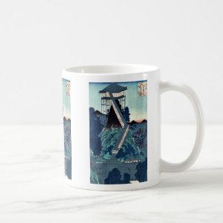 Stone image- Bodhisattva by Utagawa,Hiroshige Coffee Mugs