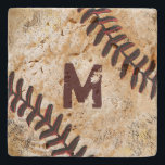 "Stone Jersey Number or Monogram Baseball Coasters<br><div class=""desc"">Stone Jersey Number or Monogram Baseball Coasters are the perfect gifts for baseball man cave. Type in his MONOGRAM or favorite Jersey NUMBER or just delete it. Vintage Baseball Coasters are the perfect man cave baseball gifts for him. Choose the Travertine Coasters (as shown), Marble, Sandstone and Limestone, each with...</div>"