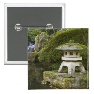 Stone lantern and Heavenly Falls Button