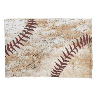 Stone-Like Rustic Vintage Baseball Pillow Case