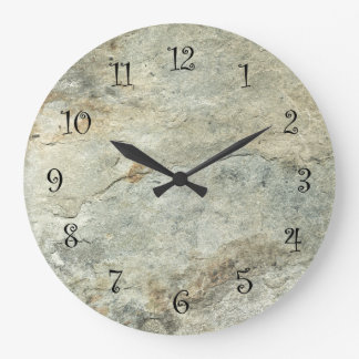 stone look kitchen wall clocks. beautiful ideas. Home Design Ideas