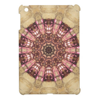 Stone Look Stained Glass or Ship s Wheel iPad Mini Cover