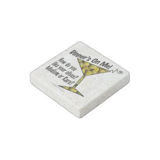 STONE MAGNETS - MEDIUM or RARE MARTINI OLIVES? Stone Magnet