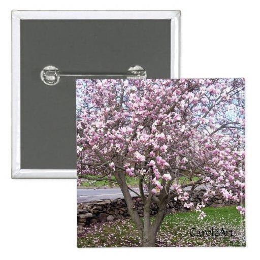 Stone Magnolias Pin
