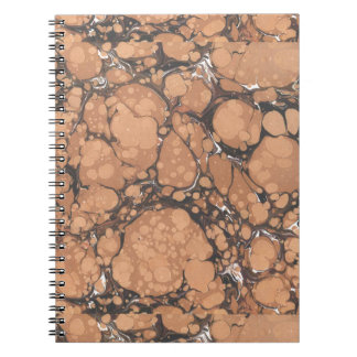 Stone Marble Spiral Notebook