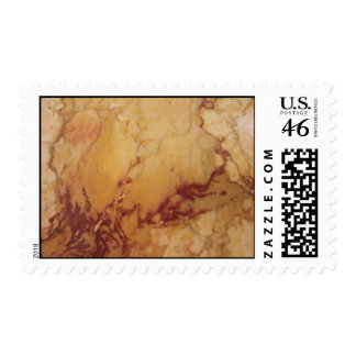 Stone Marble Postage Stamps