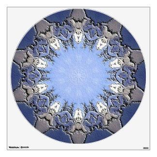 Stone METAL Element Kaleido circle wall decal