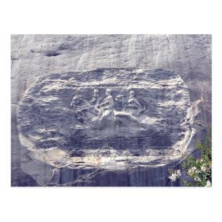Stone Mountain Carving, Stone Mountain Georgia 1 Postcard
