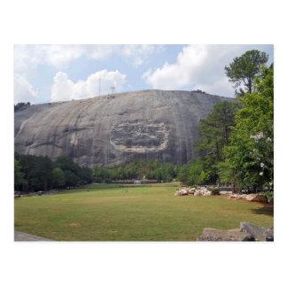 Stone Mountain Carving Stone Mountain Georgia 3 Postcard