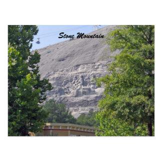 Stone Mountain Carving, Stone  Mountain Georgia Postcard