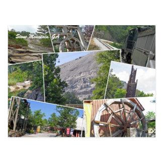 Stone Mountain Collage, Stone Mountain, GA Postcard