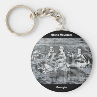 Stone Mountain, Georgia Keychain