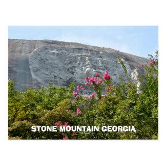 Stone Mountain Georgia Monument to the Confederacy Postcard