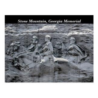 Stone Mountain Georgia Park Memorial Postcard