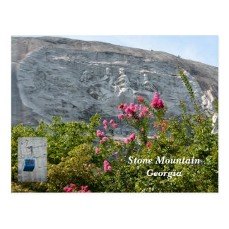 Stone Mountain Georgia Postcard