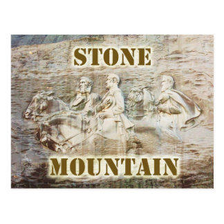 Stone Mountain, Georgia Postcard