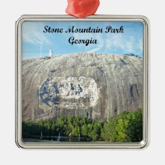 Stone Mountain Park, Georgia Metal Ornament