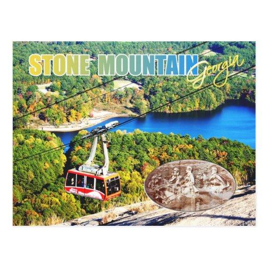 Stone Mountain Park, Georgia Postcard