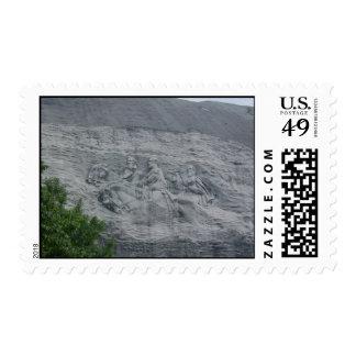 Stone Mountain Postage Stamp