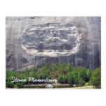 Stone Mountain que talla Stone Mountain Georgia 2 Postal