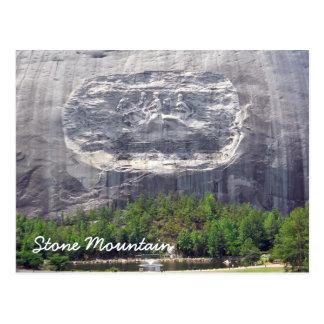 Stone Mountain que talla Stone Mountain Georgia 2 Tarjeta Postal