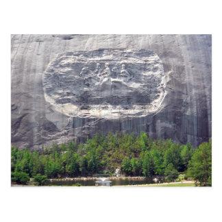 Stone Mountain que talla Stone Mountain Georgia 2 Tarjetas Postales