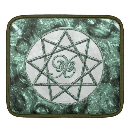 Stone Nonagram Sleeves For iPads