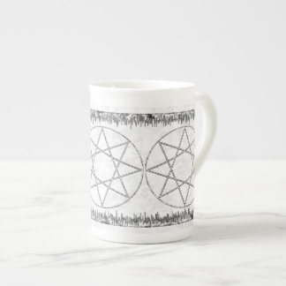 Stone Octagram Tea Cup