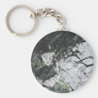 Stone optics keychain