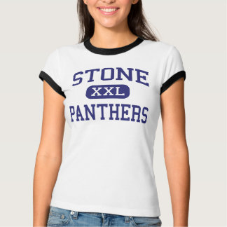 Stone Panthers Middle School Paris Texas T-Shirt