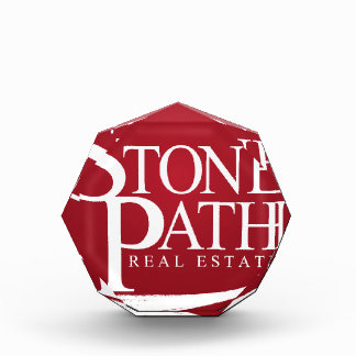 Stone Path Real Estate Apperal Acrylic Award