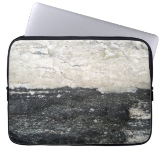 stone pattern laptop sleeve