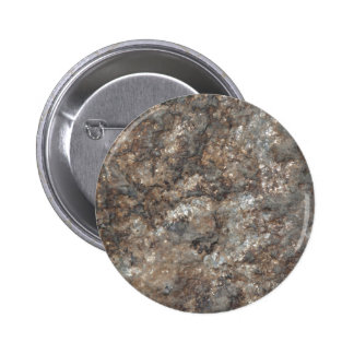 Stone pattern pinback button