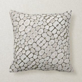 Stone Pattern Wall Texture Throw Pillow