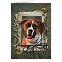 Stone Paws - Boxer - Lucy