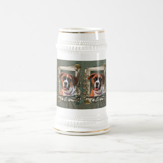 Stone Paws - Boxer - Lucy 18 Oz Beer Stein