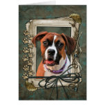 Stone Paws - Boxer - Lucy Cards