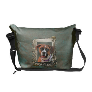 Stone Paws - Boxer - Lucy Courier Bag