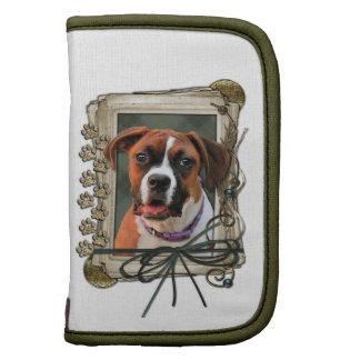 Stone Paws - Boxer - Lucy Folio Planners