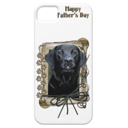 Stone_Paws_Labrador_Black iPhone SE/5/5s Case