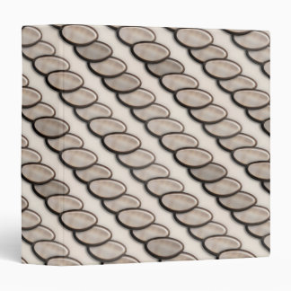 Stone Pebble Stripes Binder