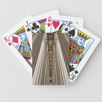Stone Pillars Bicycle Playing Cards