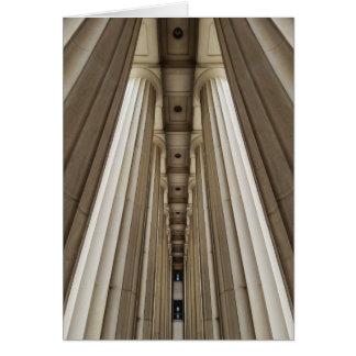 Stone Pillars Card