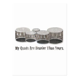 Stone Quads Postcard