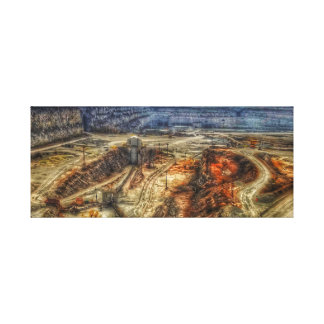 Stone Quarry Canvas Print