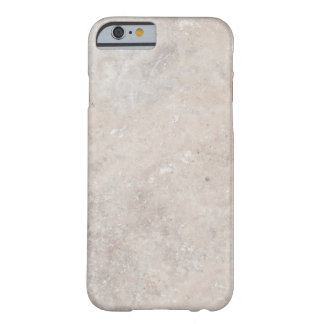 Stone Rock Marble Travertine Nature Background Barely There iPhone 6 Case