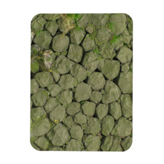 Stone Rockwall Texture Background Magnet