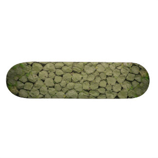 Stone Rockwall Texture Background Skateboard Deck