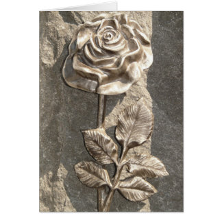 Stone Rose Card
